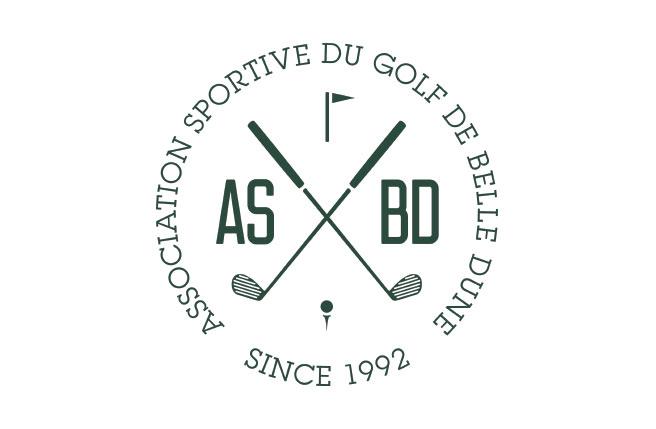 logo ASBD association sportive du golf de belle dune - pour medecins de l'imaginaire