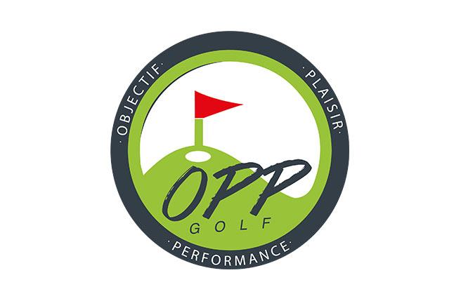logo academie opp golf pour medecins de l'imaginaire