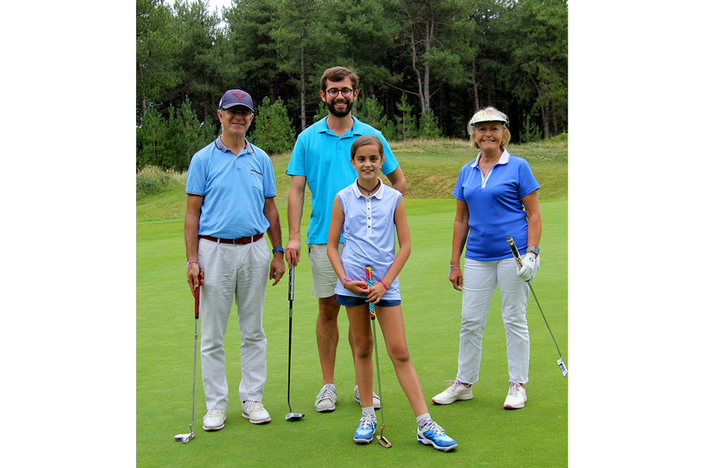 trophee art-en-ciel - famille participante - golf de belle dune